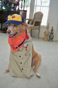 "Lilly serves in her community, as a ""Scout Master""!"
