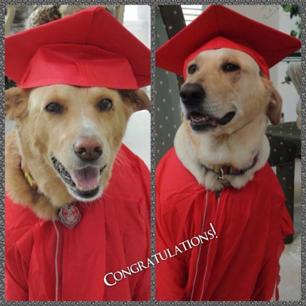 Lilly and Madison Grads